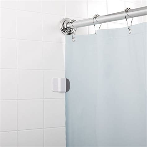 shower curtain holder splash guard oxo good grips shower curtain liner splash guard clip
