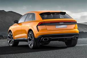 Q8 Audi Again With More Intensity Audi Q8 Concept Returns As A