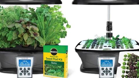 miracle gro aerogarden ultra indoor garden  gourmet