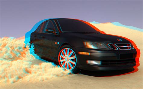 saab car wallpaper hd saab saab 9 5 3d 3d picture car drift wallpapers hd