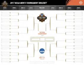ncaa bracket template ncaa tournament 2017 printable march madness bracket