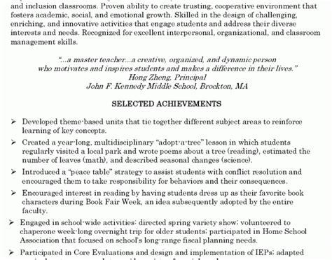 Pre K Resume Objective by Pre K Assistant Resume Krida Info