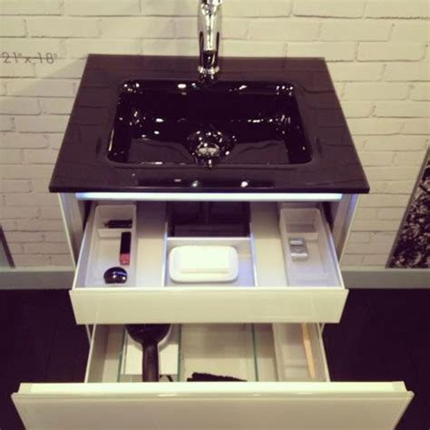 robern compact vanity best small space solution at the show robern s compact