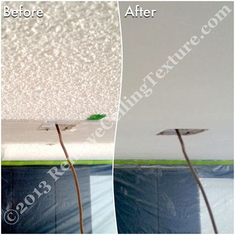 ceiling texture removal matching ceiling texture a tricky business