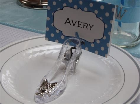 the glass slipper west branch mi cinderella birthday glass slipper place cards