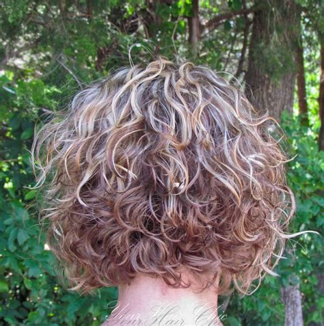 fine hair color and bob perms image result for stacked spiral perm on short hair hair