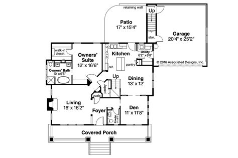 carrington homes floor plans craftsman house plans carrington 30 360 associated designs