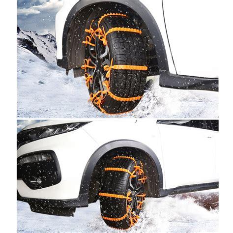 cadenas de nieve plastico neum 225 ticos de invierno ruedas cadenas de nieve mini ruedas