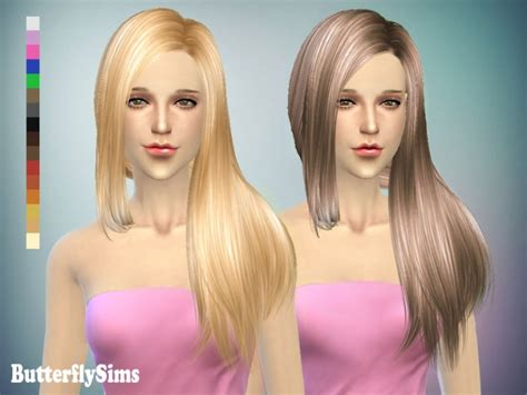 butterfly sims hair sims 4 b fly hair 141 free at butterfly sims 187 sims 4 updates