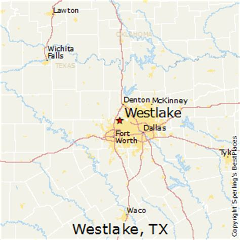 map of westlake texas best places to live in westlake texas