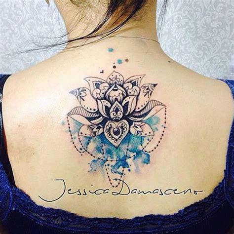 flor de lotus tattoo mulpix tattoo feita pela tatuadora jessicadamasceno art