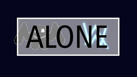 alan walker youtube logo marshmello x alan walker alone youtube