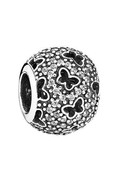 Fluttering Butterflies Pendant Charm P 279 s pandora fluttering butterflies bead charm silver sparklers and jewelry