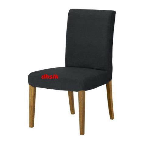 grey dining chair covers ikea ikea henriksdal chair slipcover cover 21 quot 54cm sanne gray