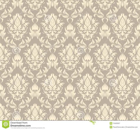 pattern seamless damask seamless damask pattern royalty free stock photography