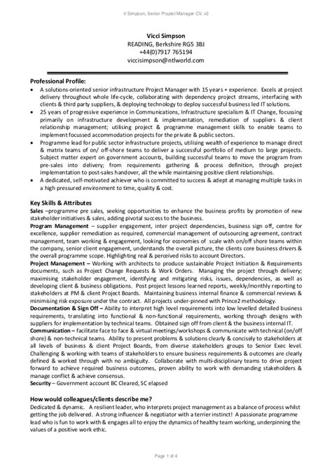 agile project manager resume agile project manager resume foto 2017