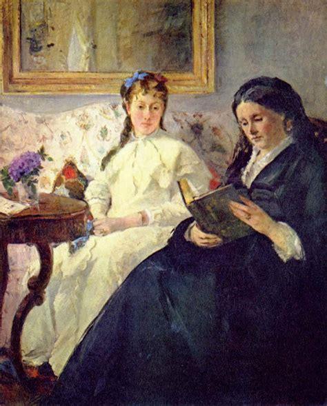 La Berthe Morisot by Berthe Morisot La Prima Donna Dell Impressionismo