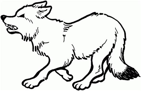 realistic fox coloring page red fox images free cliparts co
