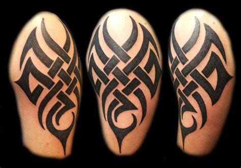 32 Bold Arm Tattoos For Men For 2013 Creativefan Bold Tribal Forearm