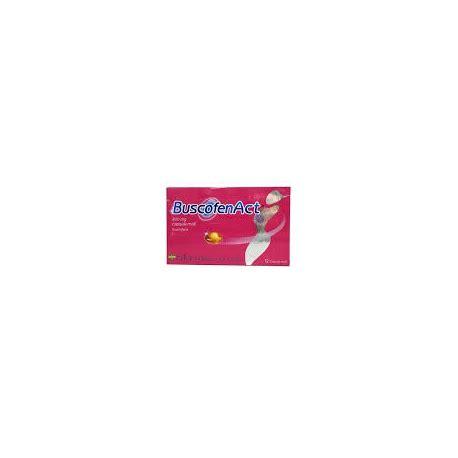 buscofen per mal di testa buscofen act 12 capsule farmacia omeopatia forl 236