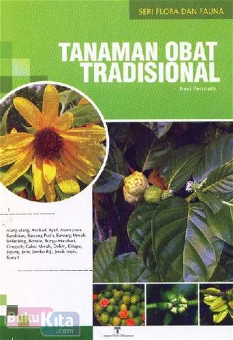 tanaman obat tradisional toko buku  bukukita
