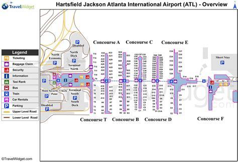 map of atlanta airport map atlanta airport my