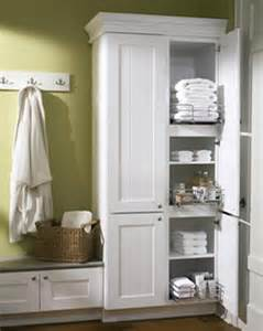 Free Standing Bathroom Storage Ideas by Free Standing Linen Closet