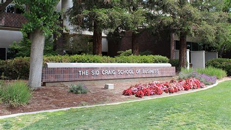 Csu Fresno Mba by Fresno State Cus News Craig School Publishes Central