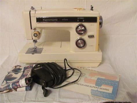 Sears Kenmore Convertible 14 Stitch Sewing Machine 17812 W