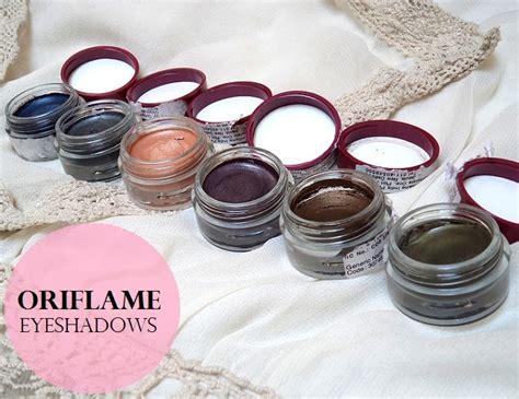 Eyeshadow The One Oriflame 6 oriflame the one colour impact eyeshadows reviews