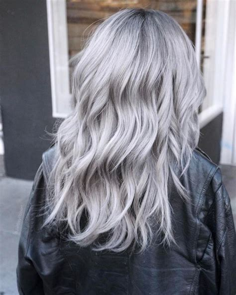 how to get icy silver hair 728 best hair images on pinterest hairstyle ideas short