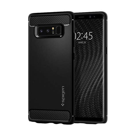 Baru Spigen Samsung Galaxy Note 8 Softcase Rugged Armor jual spigen rugged armor casing for samsung galaxy note 8 matte black harga