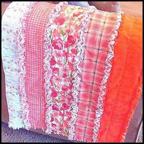 rag quilt sew no sew and crocheting knitting