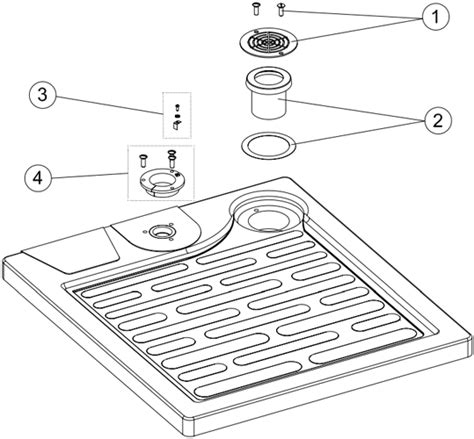 Shower Tray Parts by Relax Model Shower Tray Spare Parts Parts Rudy Shop Eu