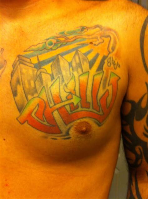 chest tattoo left or right left chest tattoo
