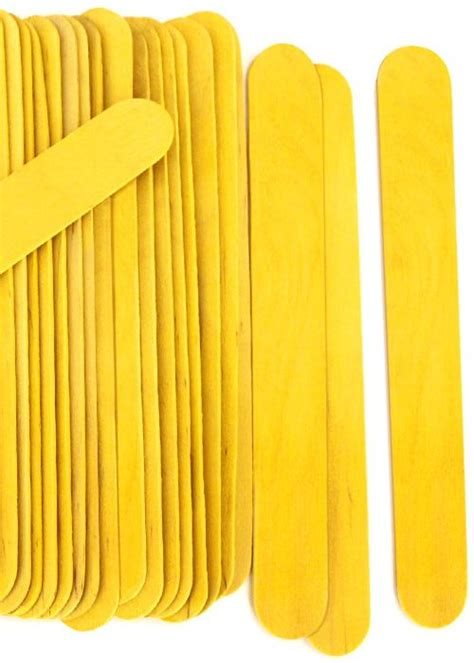 jumbo craft sticks projects jumbo yellow craft sticks for popsicle stick crafts and