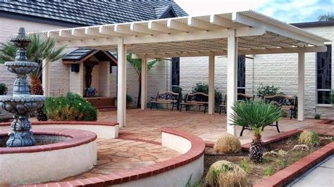Aluminum Patio Cover   Free Standing Lattice Style   Yelp