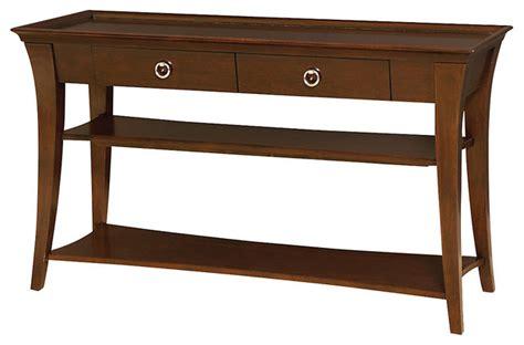 transitional console table umbria sofa table transitional console tables by