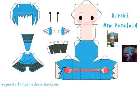 Paper Craft Websites - chibi hiroki papercraft by superstarhollyann on deviantart