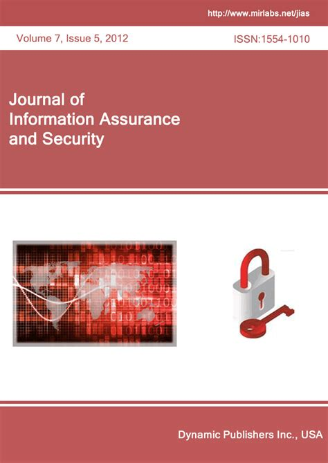 journal of information assurance and security homepage