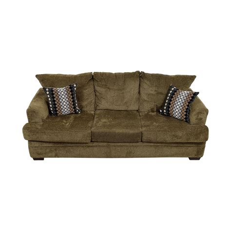 three cushion sofas 54 off three cushion tan sofa sofas