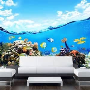 copy of wall sticker mural ocean sea underwater decole underwater world wall mural photo wallpaper 300x280cm