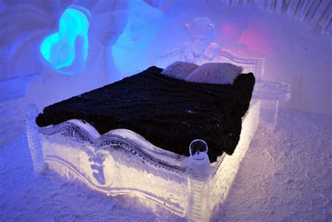 hotel de glace canada awesome ice hotels around the world that are pretty damn