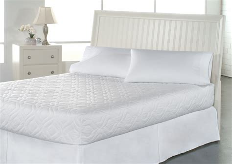 pillow top bed cover bed mattress pad cover xl white protector pillow top