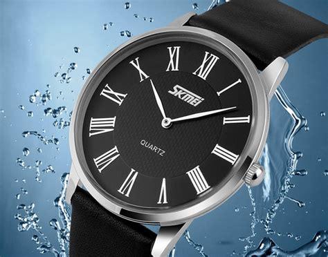 Special Skmei Casual Leather Water Resistant 30m 9092cl skmei jam tangan analog pria 9092 white