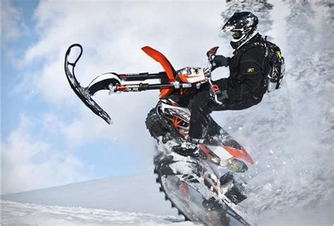snow motocross bike dirt bike snow kit