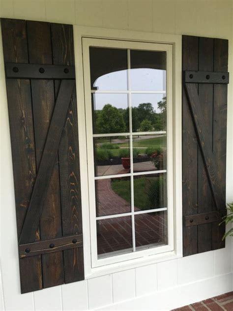 cedar z shutters 25 best ideas about rustic shutters on pinterest wood