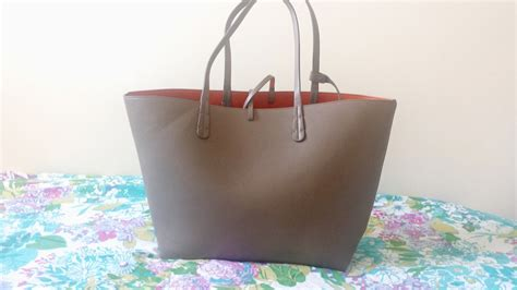 Bag Tote Zara Basic Bz 8011 zara reversible contrast shopper the type