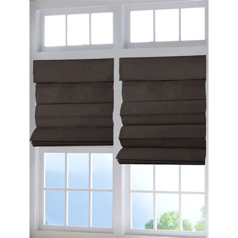 home depot glass l shades perfect lift window treatment chocolate cordless fabric