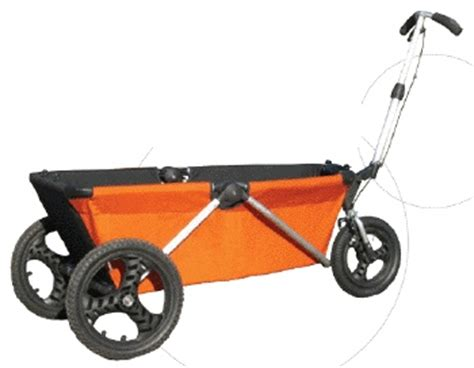 Collapsible canvas wagon the wagon